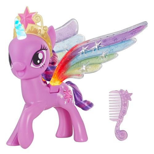 My Little Pony Rainbow Wings Twilight Sparkle- Pony Figure, Girl's, Size: Small, Purple