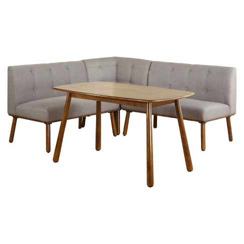 4pc Playmate Nook Dining Set Gray Buylateral Target