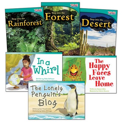 Shell Education Step into Biomes Guided Reading Level K Books - Set of 6