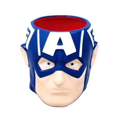 Marvel Captain America 3D Sculpted Mug - image 1 of 1
