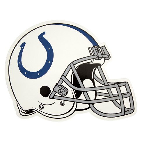 NFL Indianapolis Colts Large Outdoor Helmet Decal - image 1 of 1