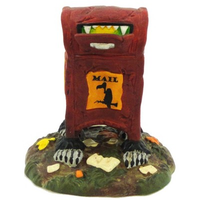Dept 56  Accessories Haunted Delivery Halloween Mailbox Usps  -  Decorative Figurines