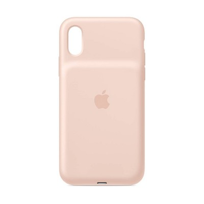 Apple I Phone Xs Smart Battery Case   Pink Sand by Apple