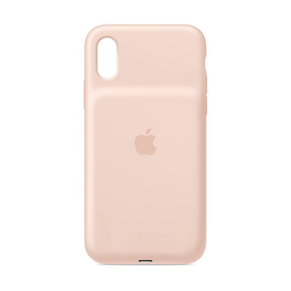 Apple iPhone X/XS Smart Battery Case - Pink Sand