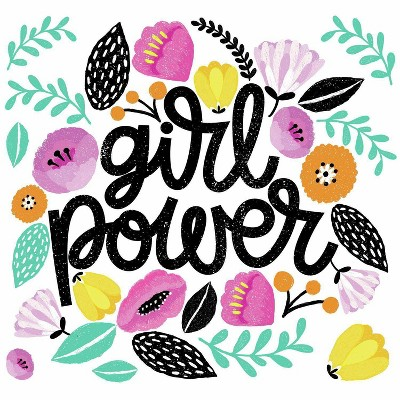 Girl Power Peel and Stick Giant Wall Decal - RoomMates