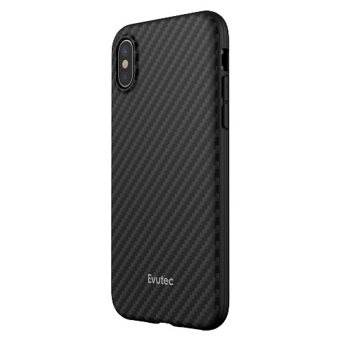 Evutec Apple iPhone X/XS Karbon Case with Car Vent Mount - Black - image 1 of 10