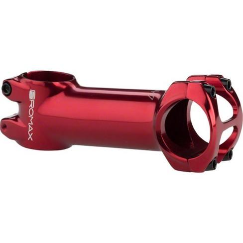 """Promax DA-1 Stem - 100mm, 31.8 Clamp, +/-7, 1 1/8"""", Aluminum, Red - image 1 of 1"""