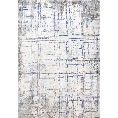 nuLOOM Mabel Contemporary Faded Abstract Area Rug