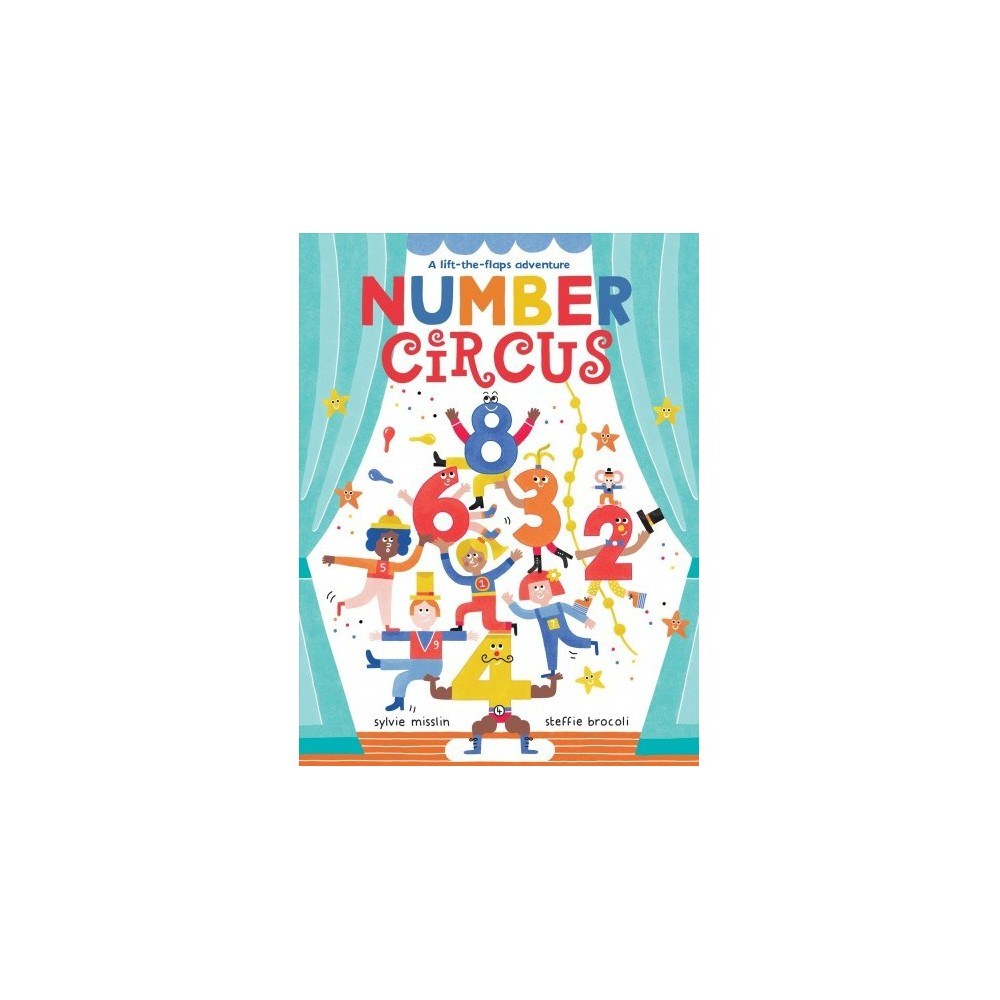 Number Circus - by Sylvie Misslin (School And Library)