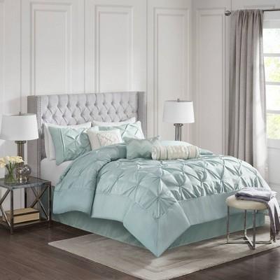 Piedmont 7 Piece Comforter Set - Green (King)