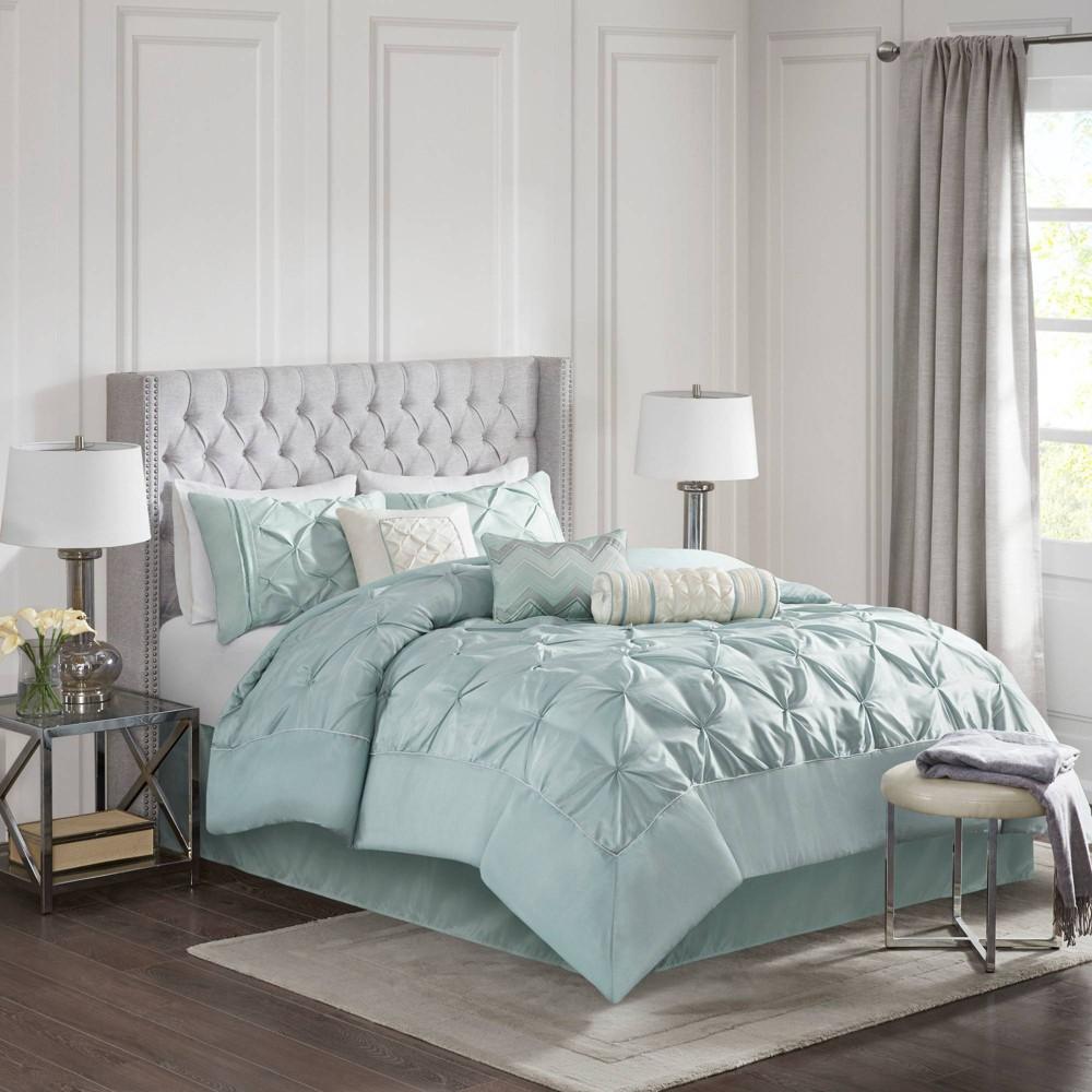 Piedmont 7 Piece Comforter Set Green King