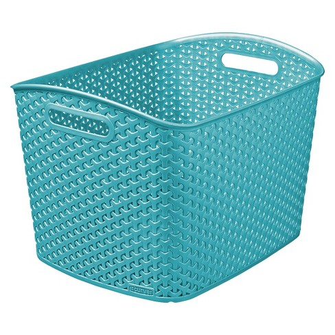 Y-Weave Extra Large Storage Bin - Blue - Room Essentials™ - image 1 of 1