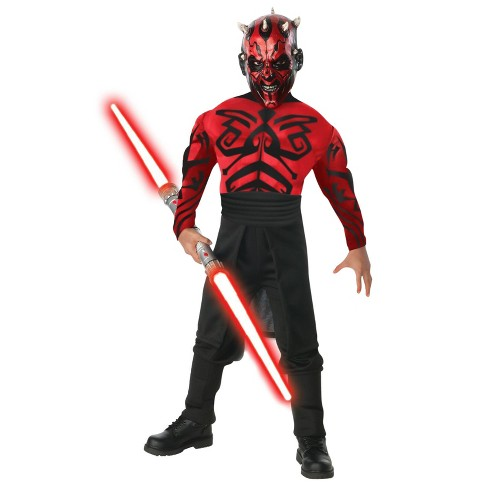 Star Wars Darth Maul Boys' Muscle Chest Deluxe Costume - image 1 of 1