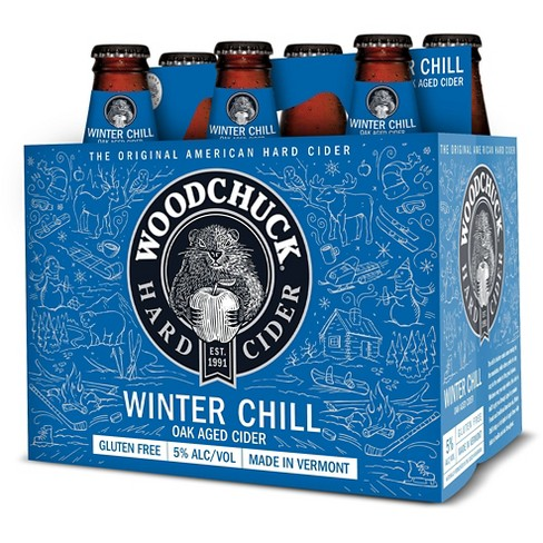 Woodchuck® Winter Chill Hard Cider - 6pk / 12oz Bottles - image 1 of 1