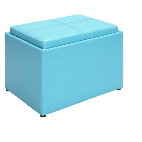 Accent Storage Ottoman - Johar Furniture - image 1 of 4