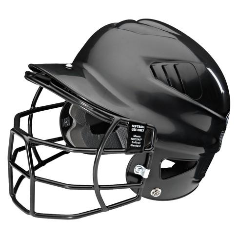 ddf5366d848 Rawlings Softball Helmet Adult Youth - Black   Target