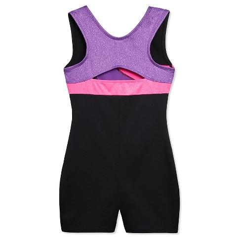 a623adea1f5c Freestyle By Danskin Girls  Biketard Black - S   Target
