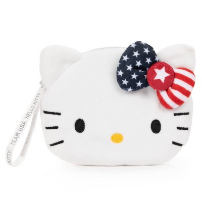 GUND Hello Kitty Team USA Coin Purse