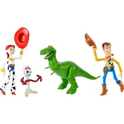 Disney Pixar Toy Story Bonnie Space Ranger Back Pack Figure 4pk