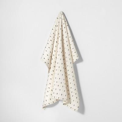 Flour Sack Kitchen Towel Cream / Black - Hearth & Hand™ with Magnolia