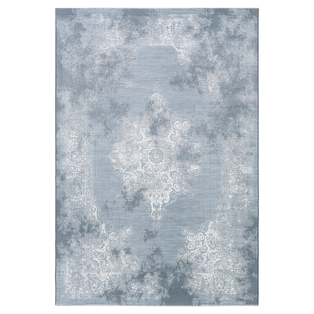 Light Gray Botanical Tufted Accent Rug - (2'X3') - Surya