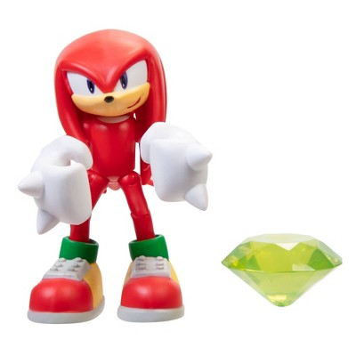 "Sonic the Hedgehog 4"" Modern Knuckles with Green Chaos Wave 2"