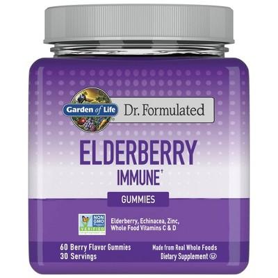 Garden of Life Dr. Formulated Adult Elderberry Gummies - 60ct