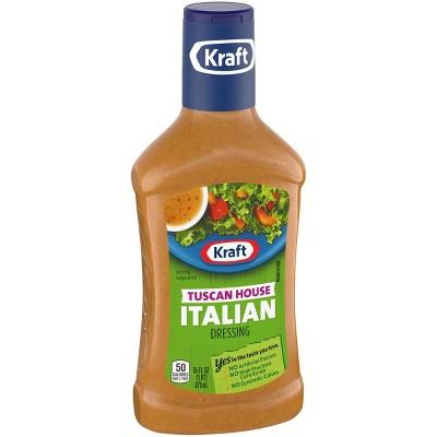 Kraft Tuscan House Italian Salad Dressing 16fl oz