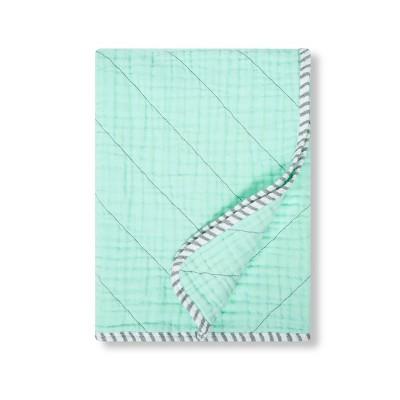 Muslin Quilt Blanket - Cloud Island™ Mint