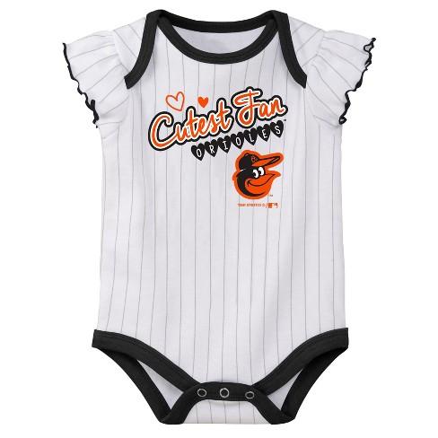 3d5837656 MLB Baltimore Orioles Girls' Bodysuit 3pk : Target
