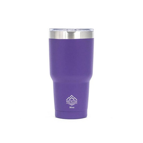 TruFlask Double Vacuum Insulated 30 oz Stainless Steel Travel Tumbler, Lavender - image 1 of 1