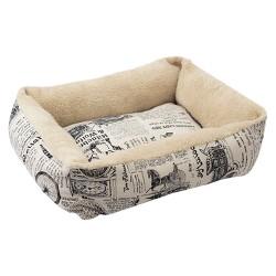 Oxgord Paws & Pals Plush Dog Bed