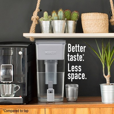 Brita Extra Large 18 Cup BPA Free Filter Water Dispenser With 1 Standard  Filter   Gray : Target