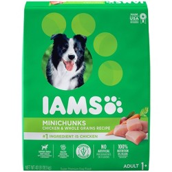 IAMS ProActive Healthy Adult MiniChunks Chicken & Whole Grains Recipe Adult Dry Dog Food
