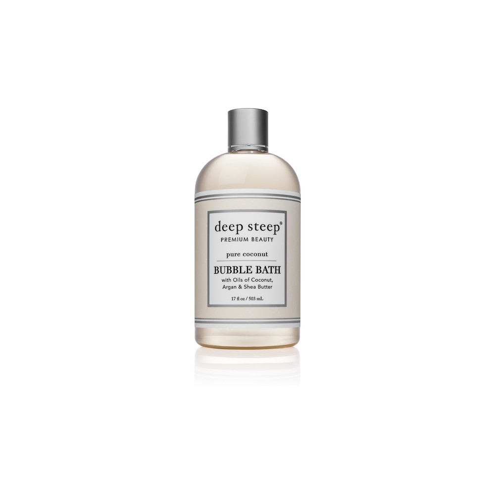 Image of Deep Steep Pure Coconut Bubble Bath - 17 fl oz