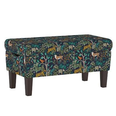 Bedroom Patterned Storage Bench - Skyline Furniture