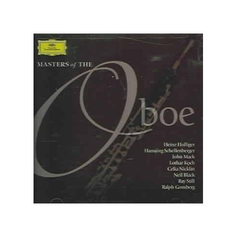 Various - Masters of the Oboe (CD) - image 1 of 1