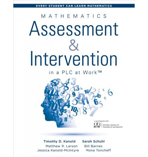 Mathematics Assessment & Intervention in a PLC at Work -  (Paperback) - image 1 of 1