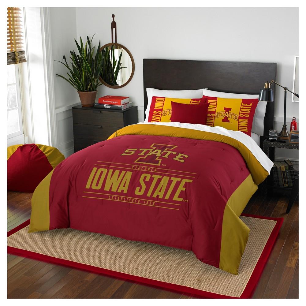 NCAA Northwest Modern Take Full/Queen Comforter Set Iowa State Cyclones - 86 x 86