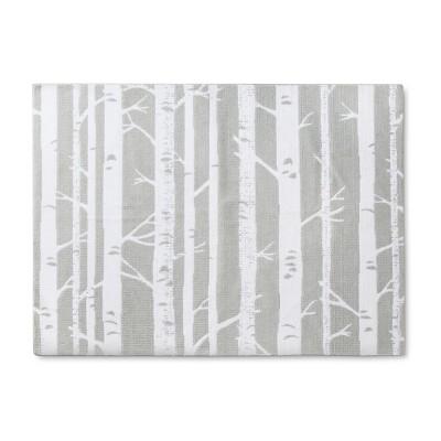 Micro Polyester Rug Birch (4'x5'5 )- Cloud Island™ - Light Gray