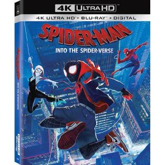Spider-Man: Into The Spider-Verse (4K/UHD)