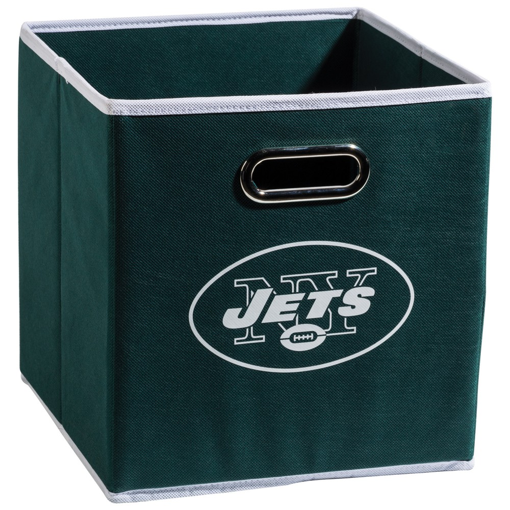 New York Jets Franklin Sports Collapsible Storage Bin