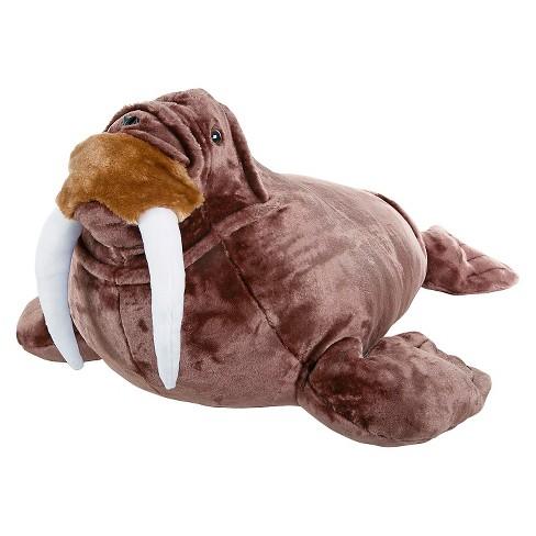 Melissa Doug Giant Walrus Lifelike Stuffed Animal Nearly 3