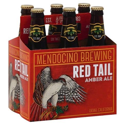 Mendocino Red Tail® Amber Ale - 6pk / 12oz Bottles - image 1 of 1