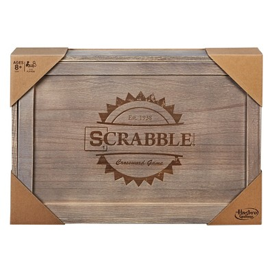 Scrabble - Rustic Series Board Game