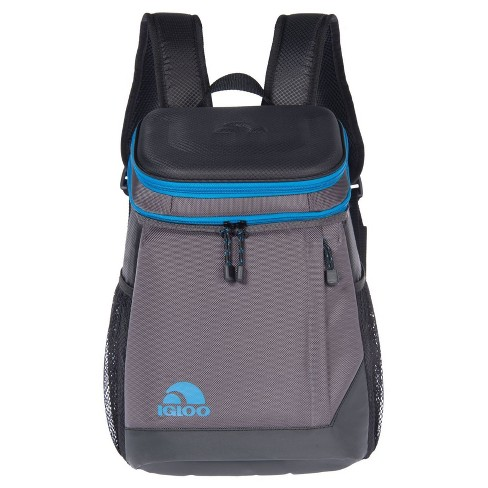a8939a5505 Igloo MaxCold Maxpack 18 Can Backpack Cooler - Black   Target