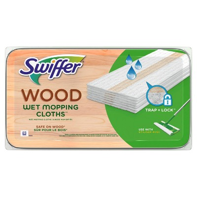 Swiffer Sweeper Wet Cleaner Refill - Wood - 20ct