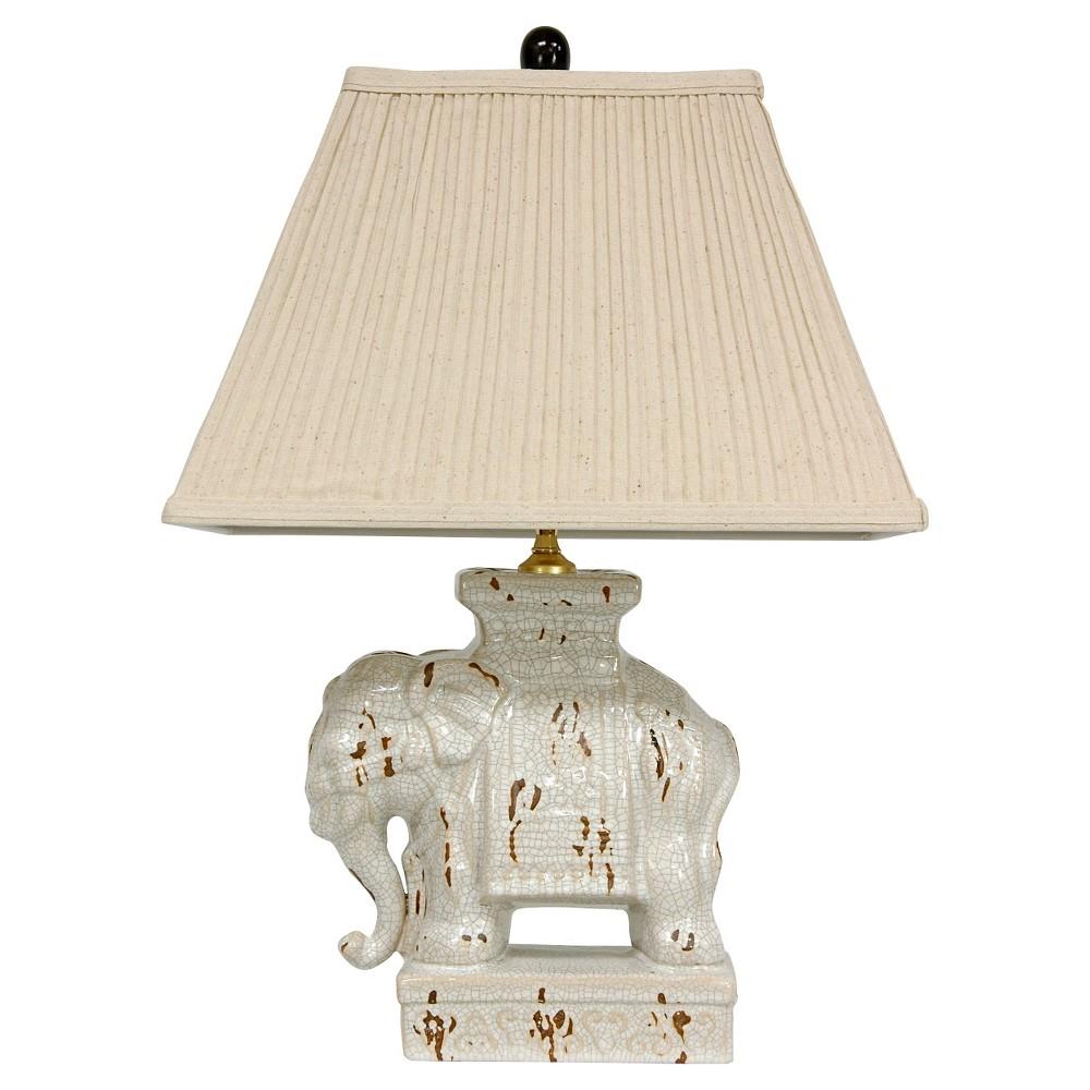 Cheap Ivory Elephant Lamp - Ivory (22)