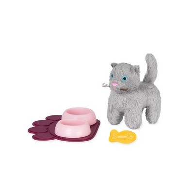 "Our Generation Plush Pet Kitten Accessory Set for 18"" Dolls"