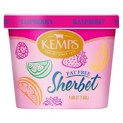 Kemps Raspberry Frozen Sherbet - 54oz